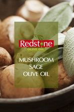 Load image into Gallery viewer, Wild Mushroom & Sage Infused Olive Oil