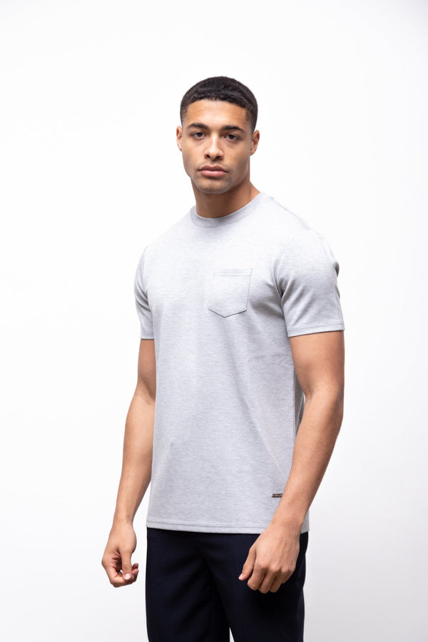 Premium Pocket T-shirt 2.0 Grey
