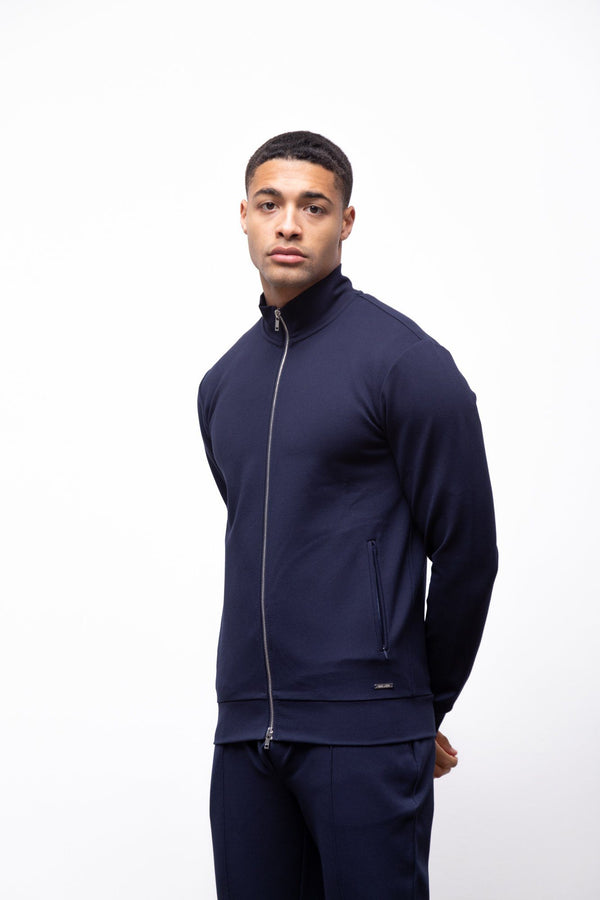 Premium Zip Jacket Navy