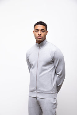 Premium Track Zip Jacket Grey