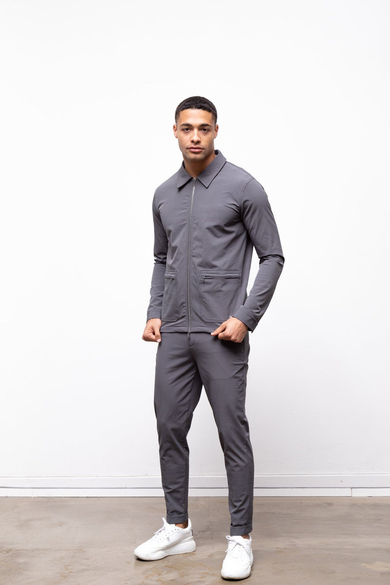 Technical Traveller Jacket Slate Grey