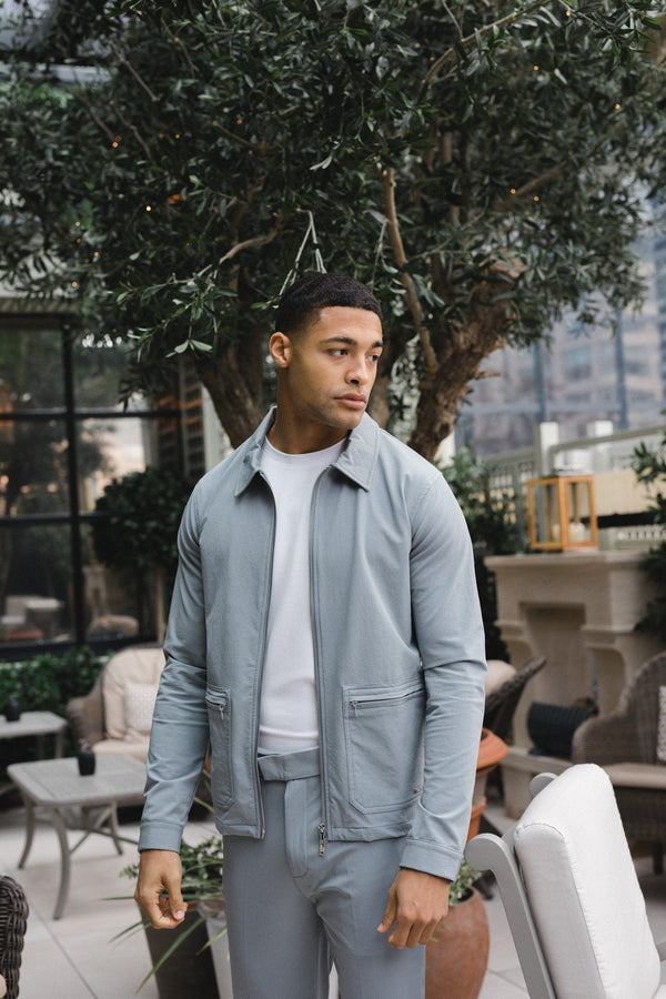 Technical Traveller Jacket Dove Grey