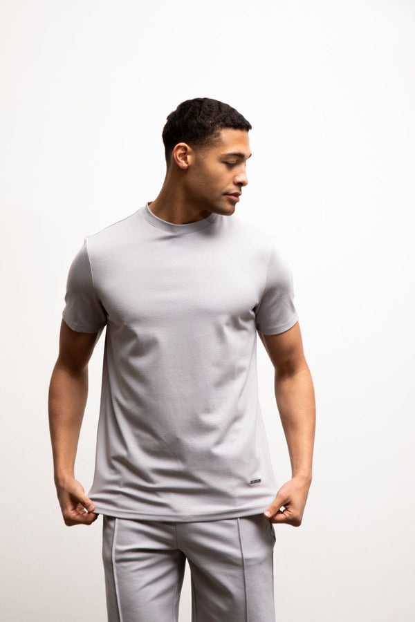 Premium Plain T-Shirt PEBBLE