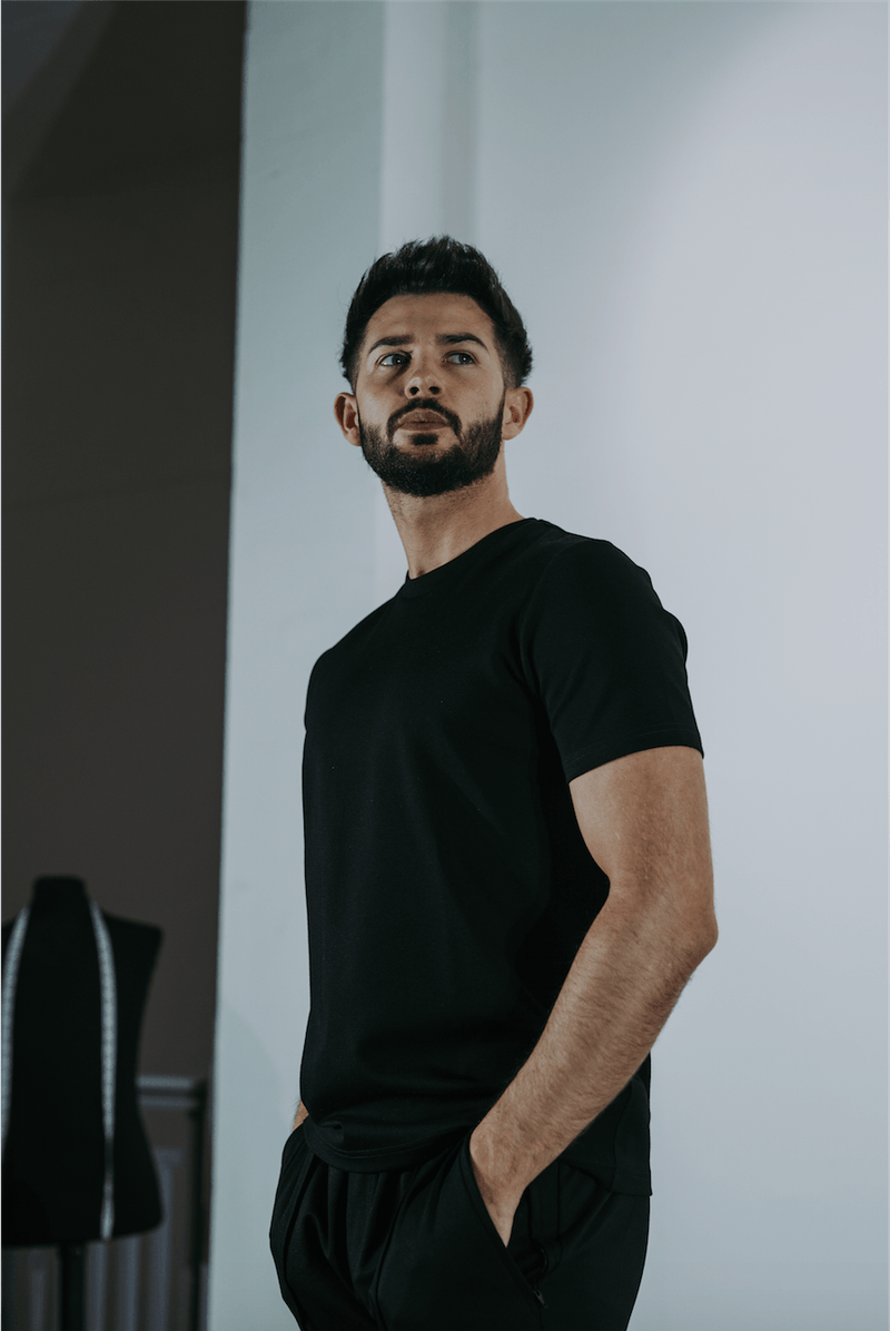 Premium Plain T-Shirt BLACK