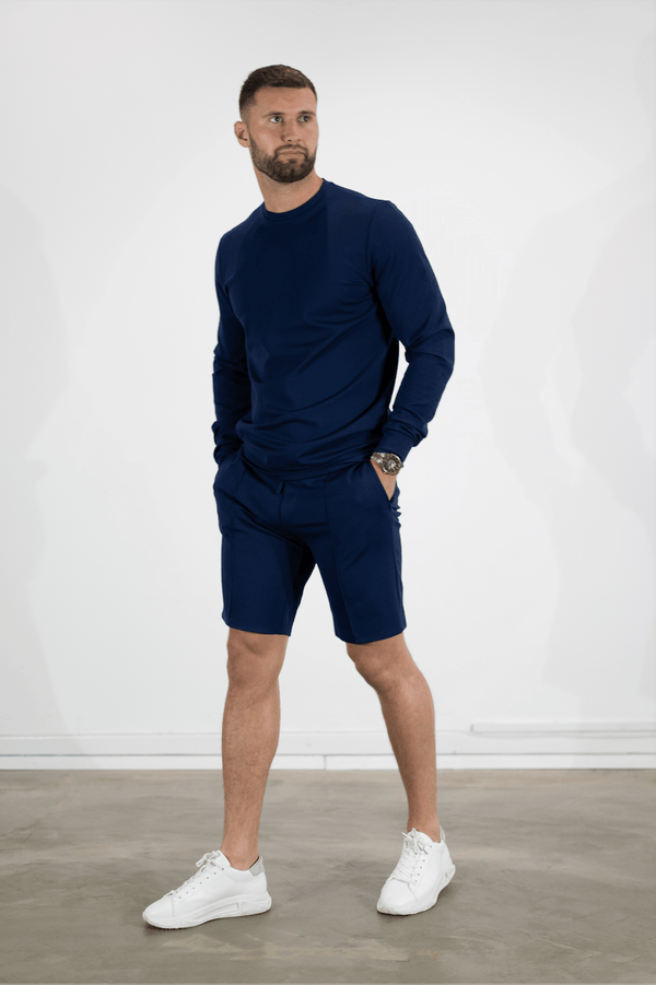 Premium Plain Sweatshirt NAVY