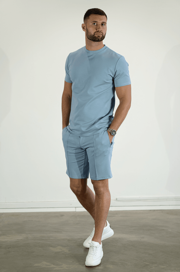 Premium Plain T-Shirt SKY BLUE
