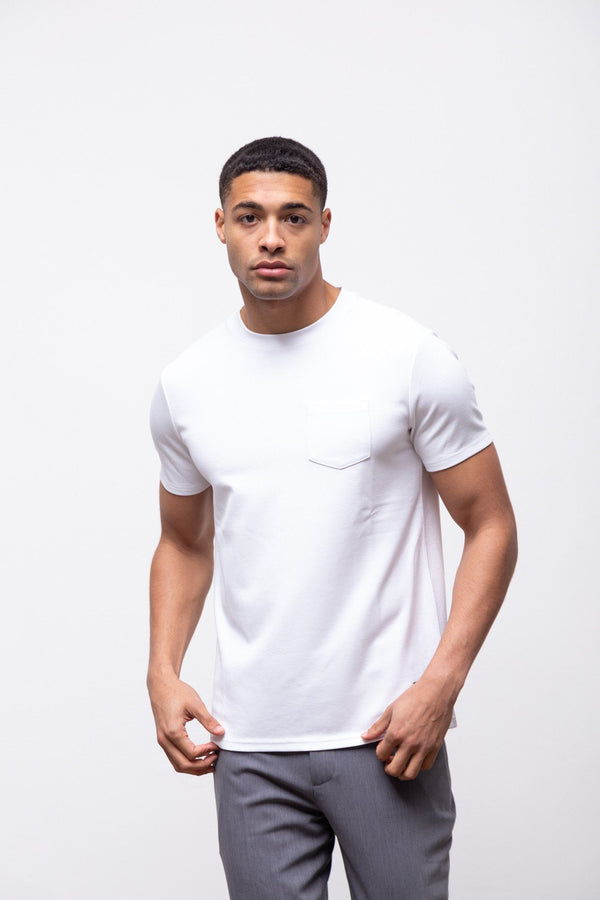 Premium Pocket T-shirt 2.0 White