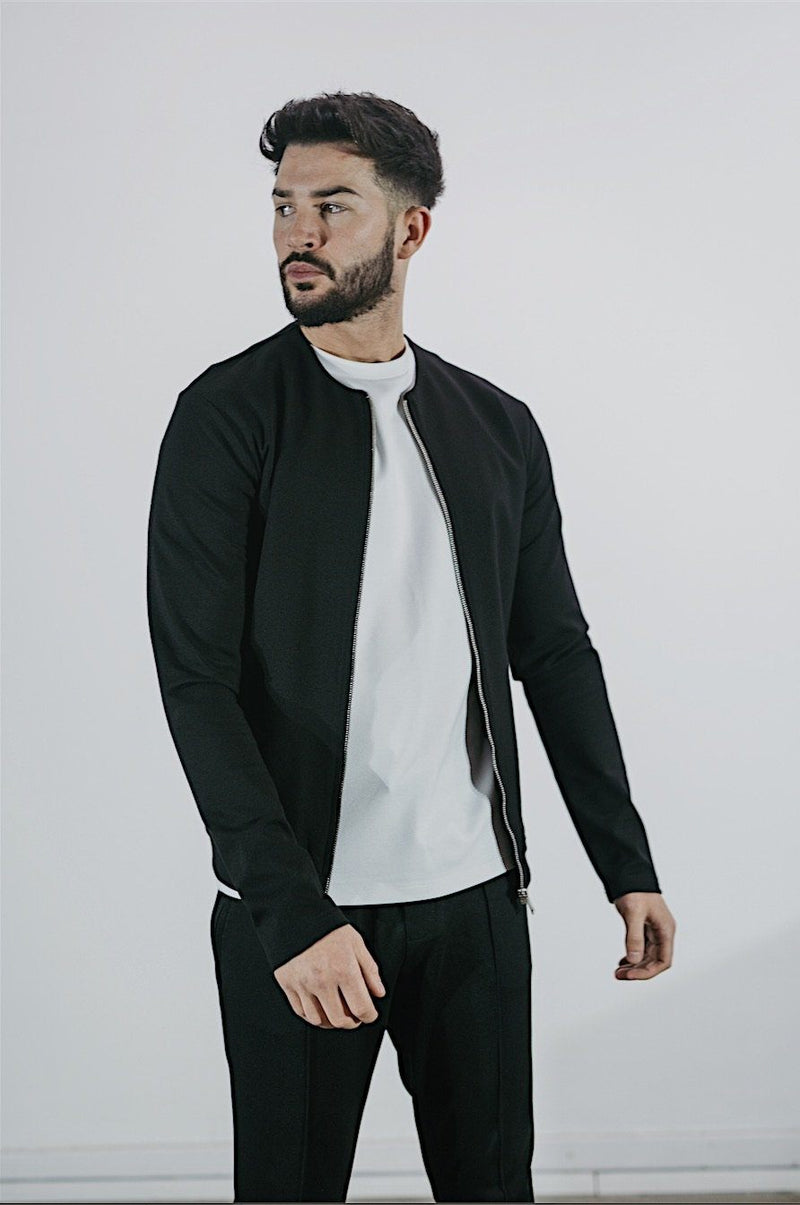 Premium Bomber Jacket BLACK