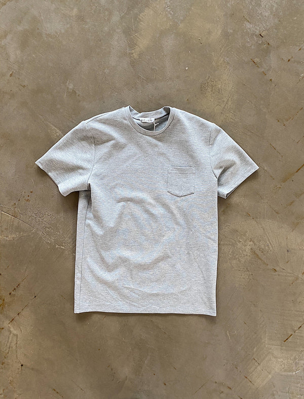Premium Pocket tee GREY
