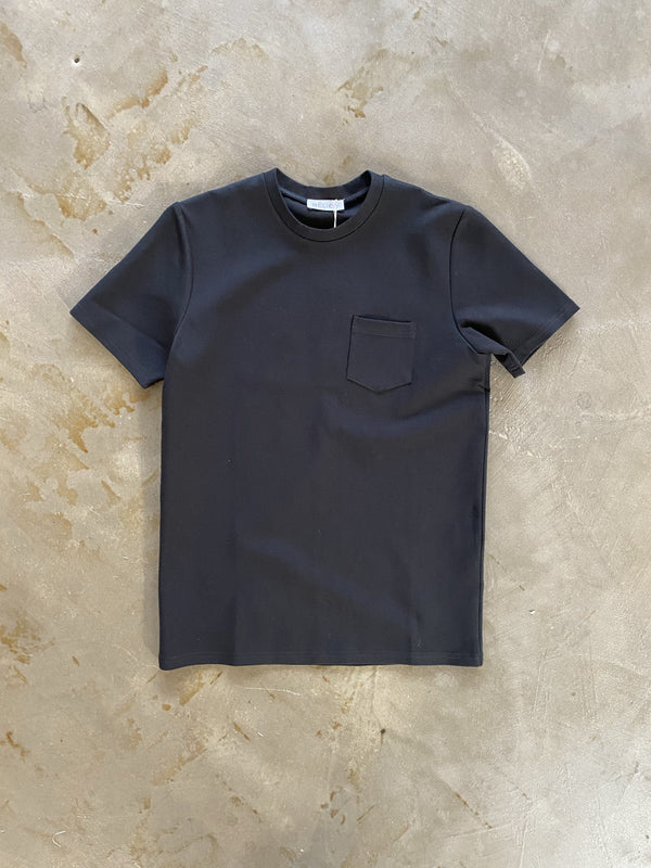 Premium Pocket tee BLACK