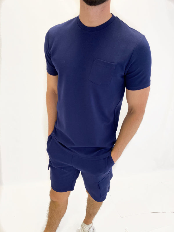 Premium Pocket T-Shirt NAVY