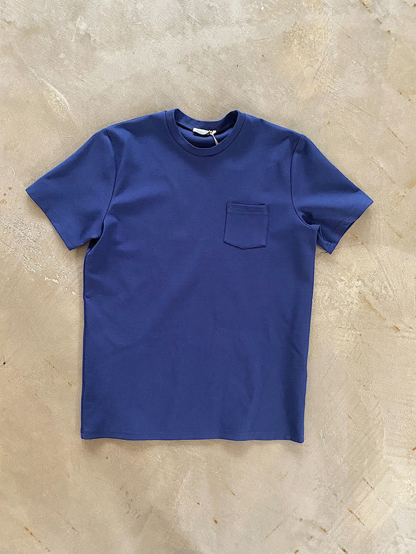 Premium Pocket tee NAVY
