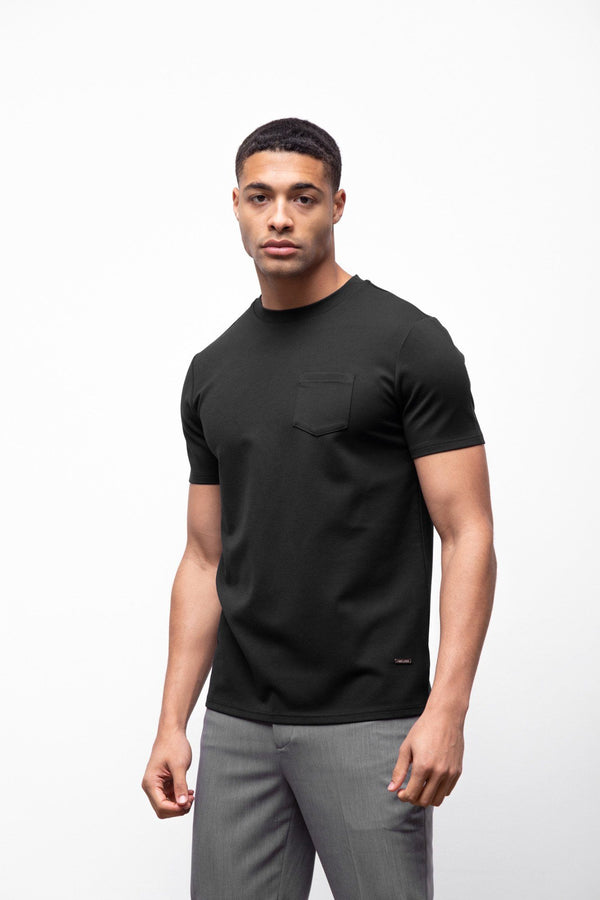 Premium Pocket T-shirt Black 2.0