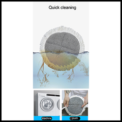 Quick Microfiber Pad Cleaning