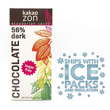 Load image into Gallery viewer, KakaoZon 56% Sugar-Free Chocolate • 2.82oz Bar