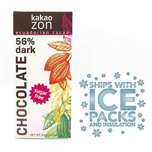 KakaoZon 56% Sugar-Free Chocolate • 2.82oz Bar