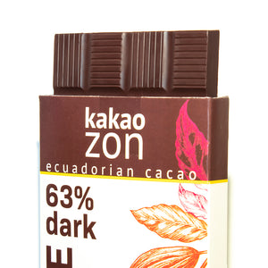 KakaoZon 63% Dark Chocolate • 2.82oz Bar