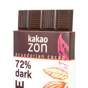 KakaoZon 72% Dark Chocolate • 2.82oz Bar