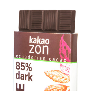 KakaoZon 85% Dark Chocolate with coconut sugar • 2.82oz Bar