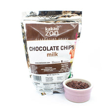Load image into Gallery viewer, KakaoZon Milk Chocolate Chips • 35.27oz
