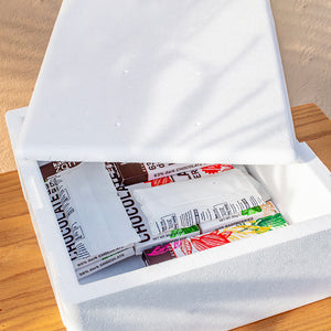 Summer Extra Insulation 11x11x5 Styrofoam Shipping Box