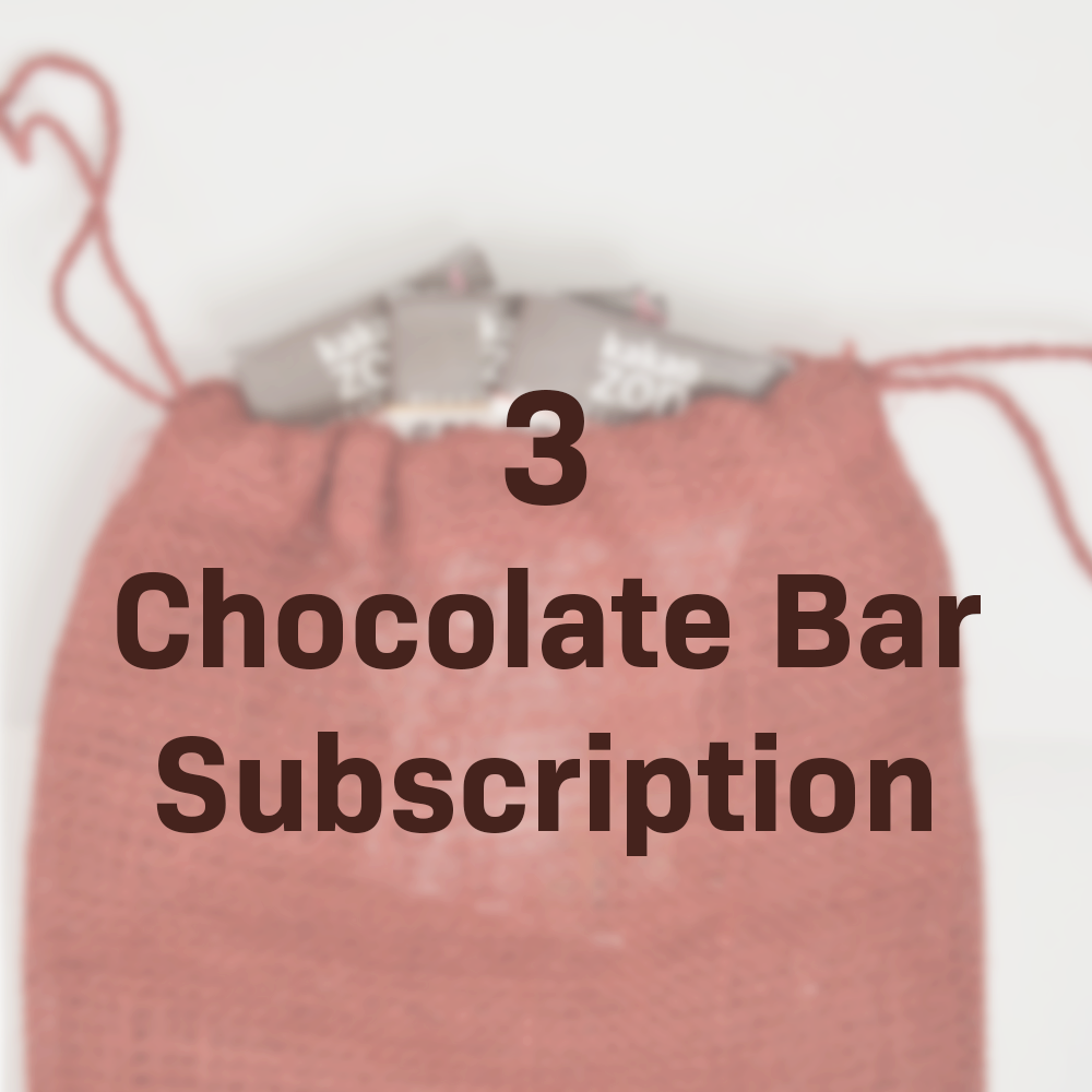 3 Chocolate Bar Subscription