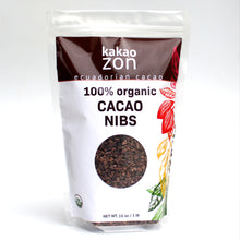 Load image into Gallery viewer, KakaoZon 100% Organic Cacao Nibs • 16oz