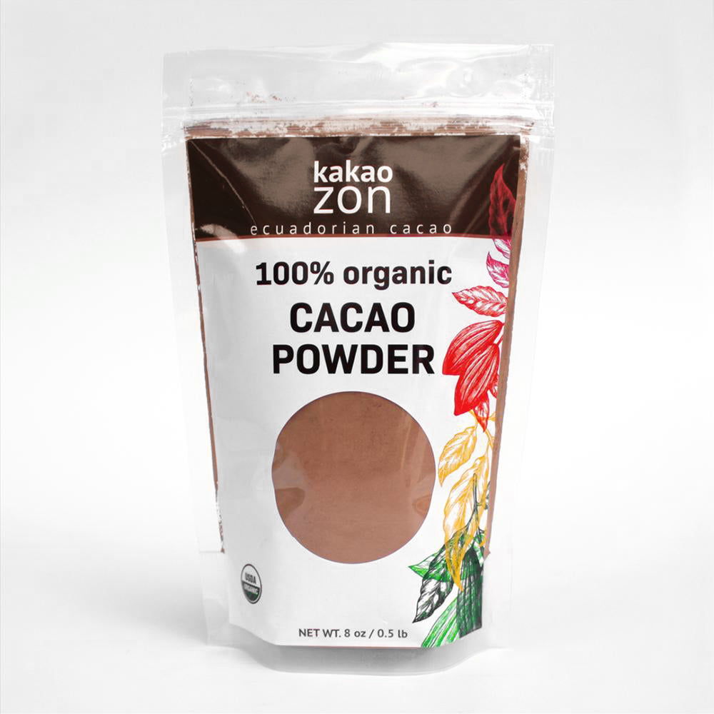 KakaoZon 100% Organic Cacao Powder • 8oz