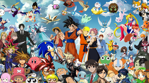 Anime Crossover Wallpaper