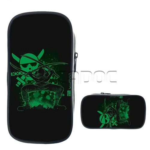 Trousse One Piece Fluorescente - Zoro-Saiyan Spark