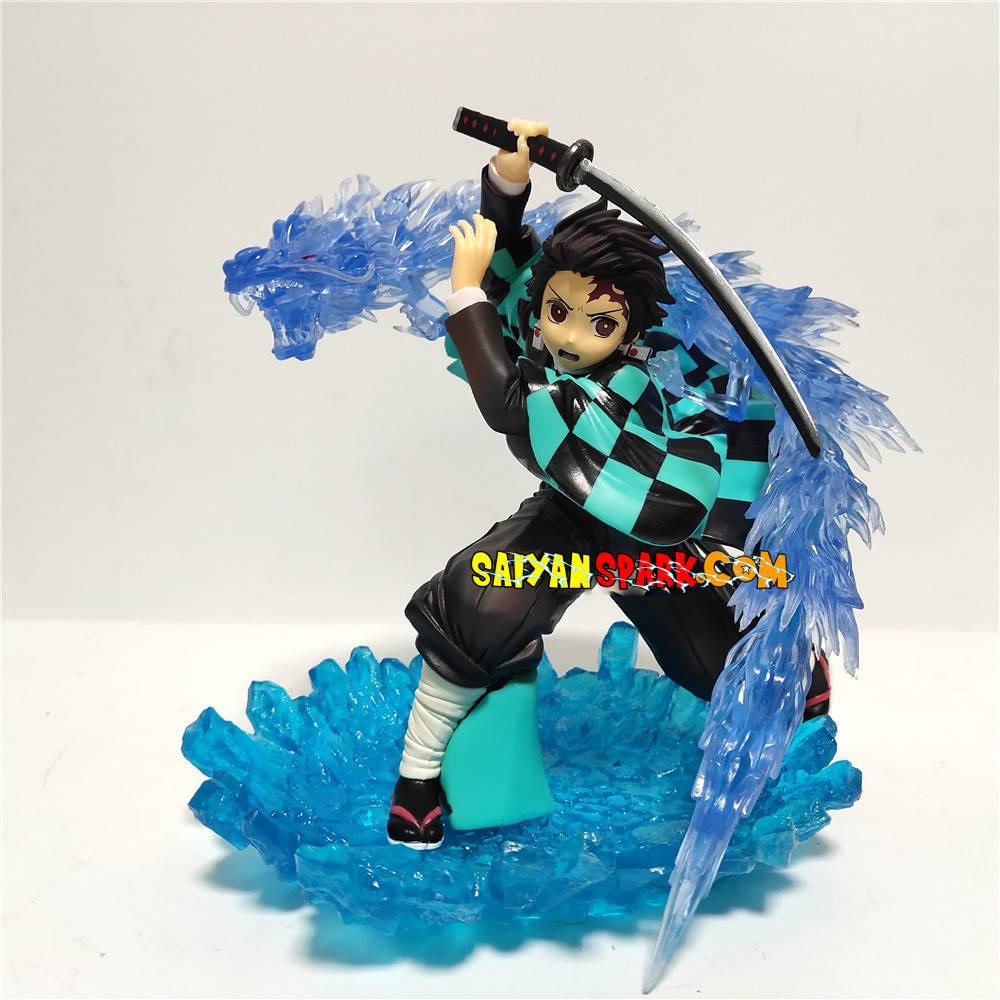 Figurine Demon Slayer - Tanjirou Technique de l'Eau-Saiyan Spark