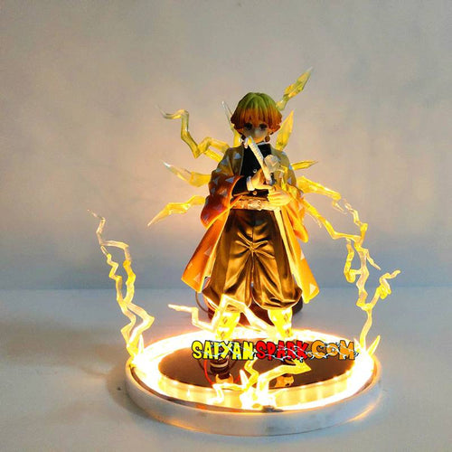 Figurine Lampe Demon Slayer Zenitsu (LED)
