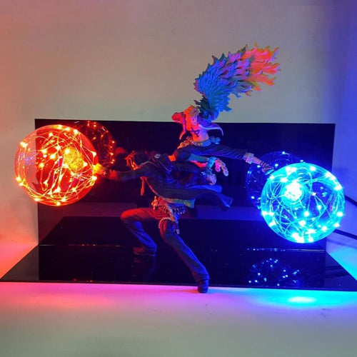 Ace Et Marco Figurine Lampe - One Piece