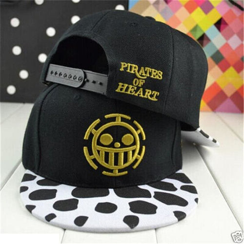 Casquette One Piece Heart Pirate Law