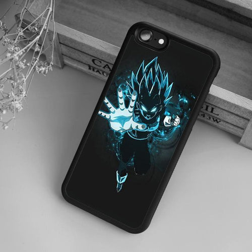 Coque DBZ Vegeta Blue iPhone/Samsung - Saiyan Spark