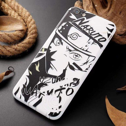 Coque iPhone Art (7 Persos) - Naruto