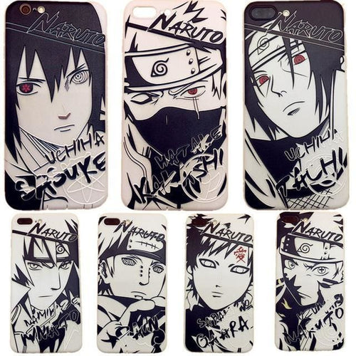 Coque iPhone Art (7 Persos) - Naruto - Saiyan Spark