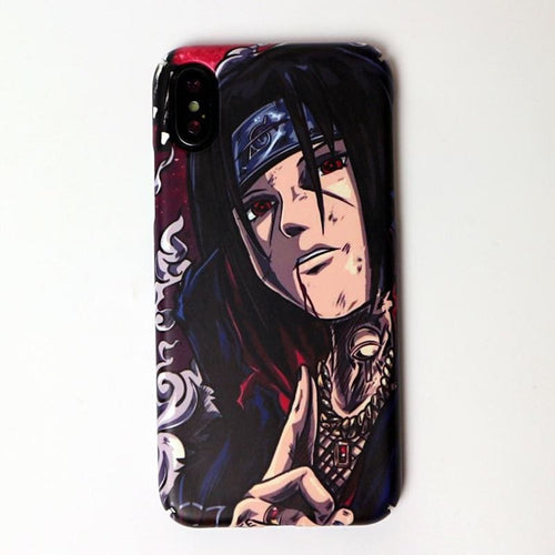 Coque iPhone Naruto - Itachi Street