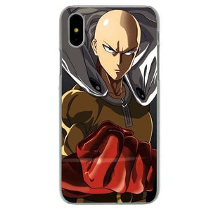 Coque iPhone One Punch Man (8 Designs) - Saiyan Spark