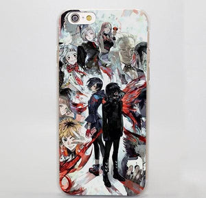 Coque iPhone Tokyo Ghoul (7 Designs) - 01 / for iPhone 4 4s