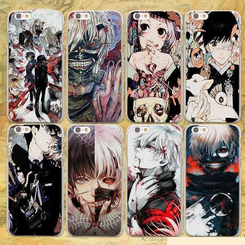 Coque iPhone Tokyo Ghoul (7 Designs)