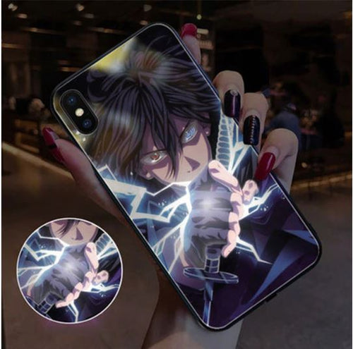 Coque Lumineuse Naruto (9 persos) - iPhone