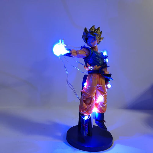 Figurine DBZ LED - Son Goku Le Super Saiyan