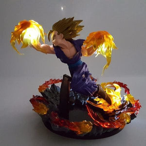 Figurine-Led Gohan SSJ2 Point du Dragon