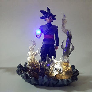 Figurine-LED Goku Black