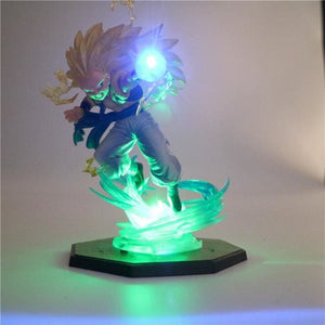 Figurine-Led Gotenks SSJ3 - Base verte