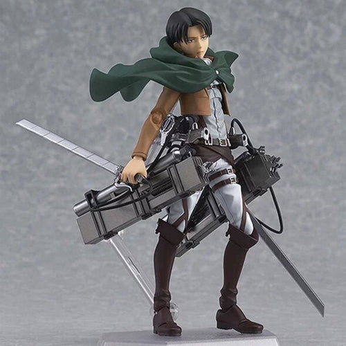 Figurines Attaque des titans (Shingeki No Kyojin) - Levi