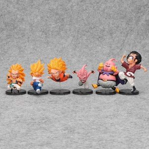 Figurines Chibi Dragon Ball (Pack de 6) Buu Saga - Dragon Ball