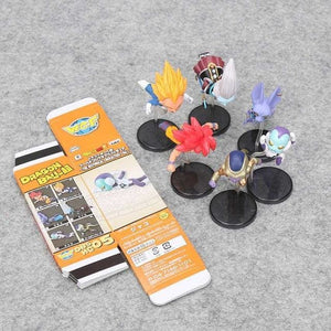 Figurines Chibi Dragon Ball (Pack de 6) Golden Frieza Saga - Dragon Ball