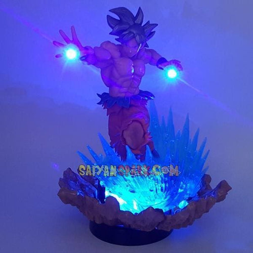 Goku Ultra Instinct Figurine LED